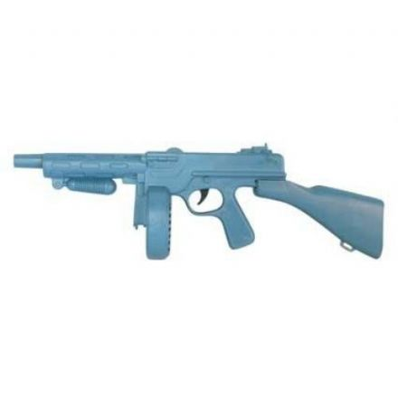Plastic Tommy Gun in Blue